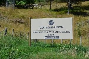 Guthroe-Smith Arboretum Road Signs