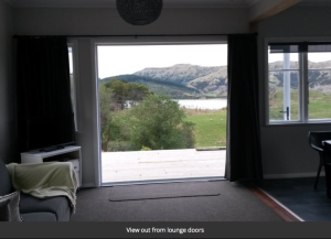 View from lounge-Cowmans Cottage